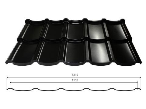 plieninė stogo danga talia